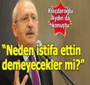 Kılıçdaroğlu istifası istenen isimlerle ilgili konuştu